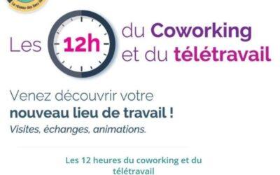Les 12h du coworking & télétravail