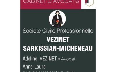 Une nouvelle entreprise : SCP Vezinet-Sarkissian