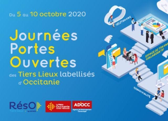 Journées Portes Ouvertes des Tiers Lieux d'Occitanie du 05 au 09 octobre