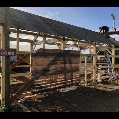 Rénovation d'une cabane ostréicole - Laborie