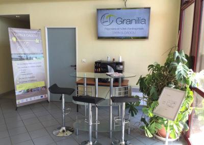 Halle d'acceuil de Granilia Graulhet